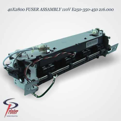 UNIDAD FUSORA LEXMARK E250 40X2800