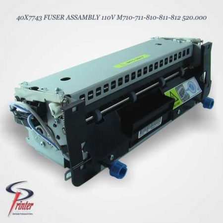 UNIDAD FUSORA LEXMARK MX710 40X7743