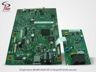 BOARD MAIN HP LJ M1522NF CC396-60001