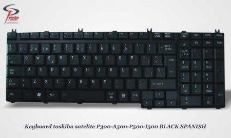 Teclado Español Negro TOSHIBA SAT.P300 PCS-9J.N9282.A0S.