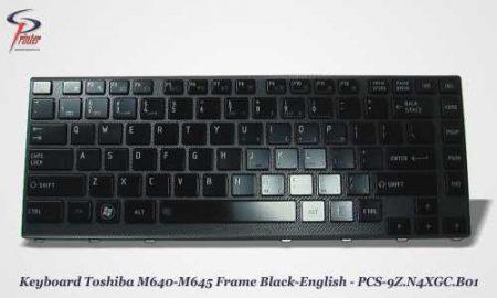 Teclado Ingles Negro TOSHIBA M640 PCS-9Z.N4XGC.B01.