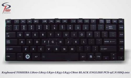 Teclado Ingles Negro TOSHIBA L850 PCS-9Z.N7SSQ.001