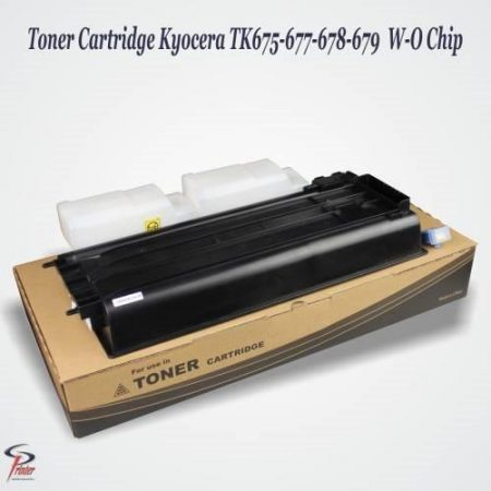 TONER CARTRIDGE KYOCERA TK-675/677 TK-675