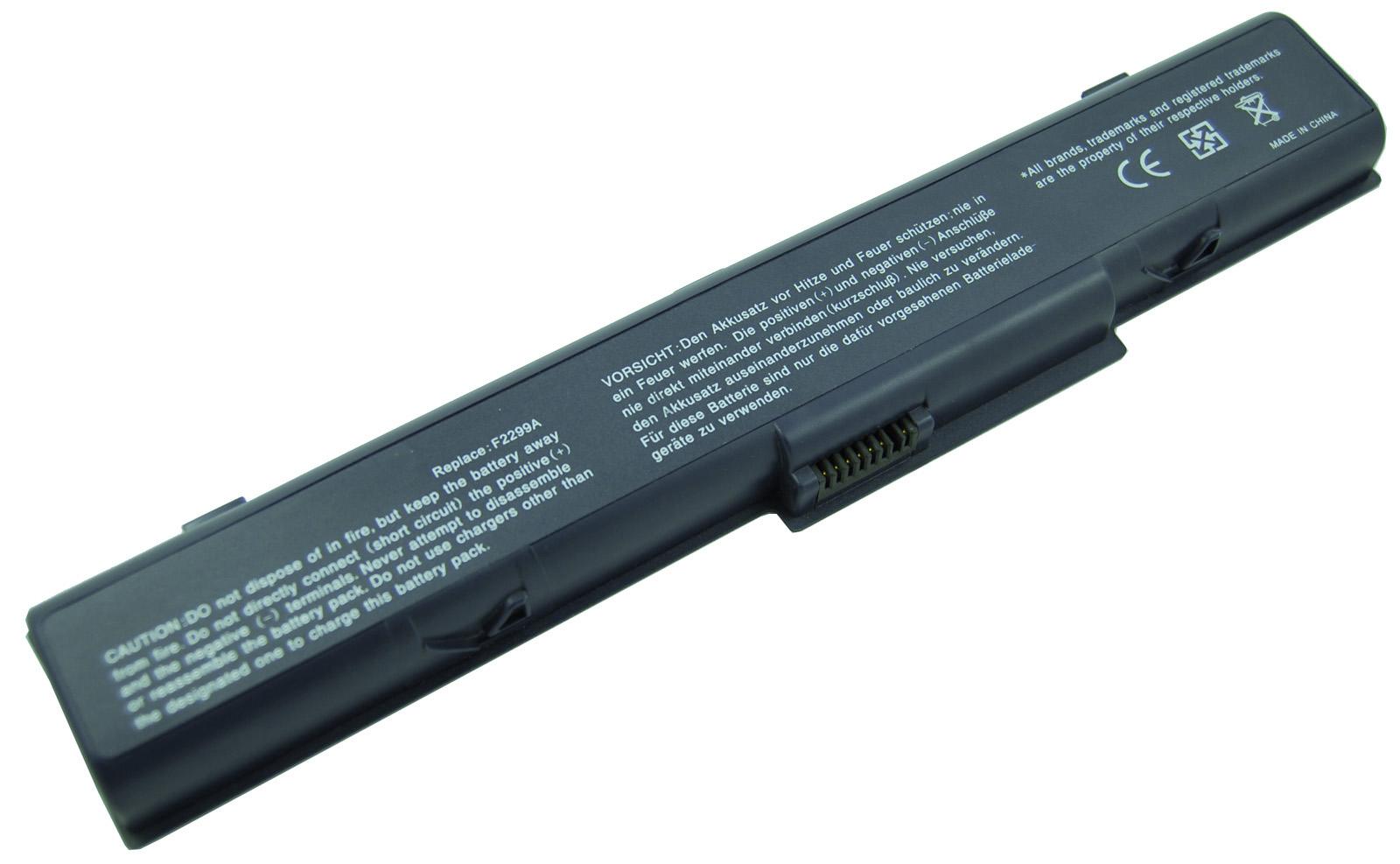 Bateria Portatil HP  Pavilion ZT1000/XZ100 series F2299A