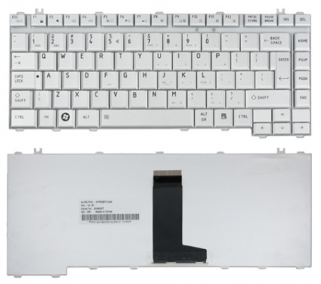 KEYBOARD TOSHIBA.SATELITE.SP.SIL.A200.A205.A210.A215.L200.L300. PCS-MP-06863US-9303