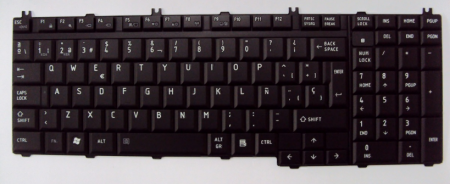 Teclado Español Negro TOSHIBA SATELITE P300 PCS-MP-06876DN-9204