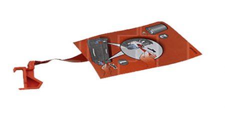 SPACER HEWLETT PACKARD LaserJet 9000/9040 RS6-8489-000