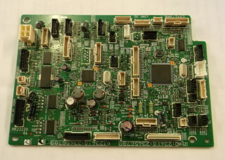DC CONTROLLER FORMATTER BOARD HP LJ 4555 RM1-7102-00R