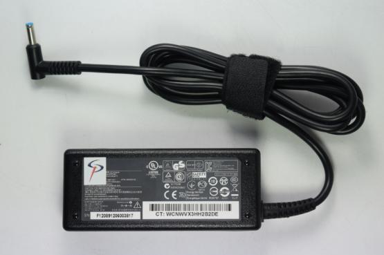 ADAPTADOR PORTATIL HP CONECTOR EN L 19.5V-3.33A 65W PUNTA AZUL (4,5MM X 3MM) 741727-001