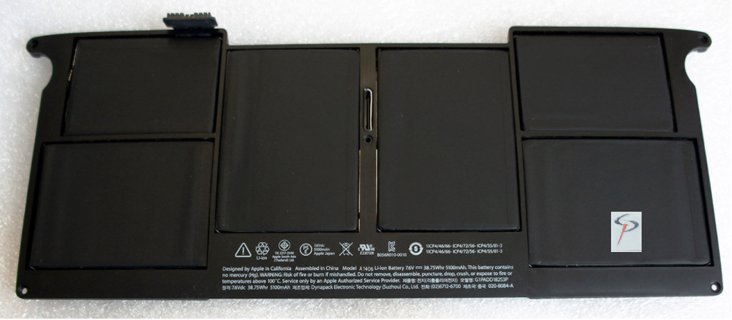 "BATERIA Apple MacBook Air 11"" A1406"