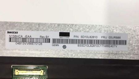 Pantalla Portatil Lenovo Thinkpad 15.6 LED T570 00UR886