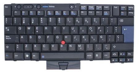 Teclado Portatil Lenovo Español Negro T410 01YP003