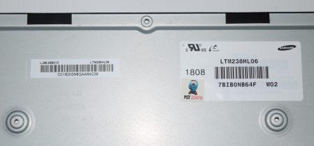 "Pantalla Pc Todo En Uno LCD 23.8"" LCD(1920X1080) LTM238HL06-M02"